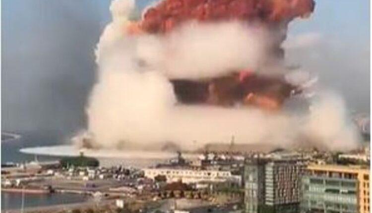 Beruit explosion