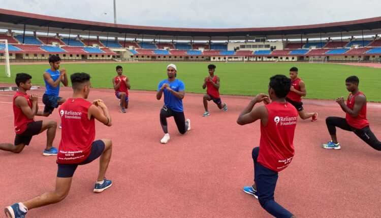 athletics practice kalinga