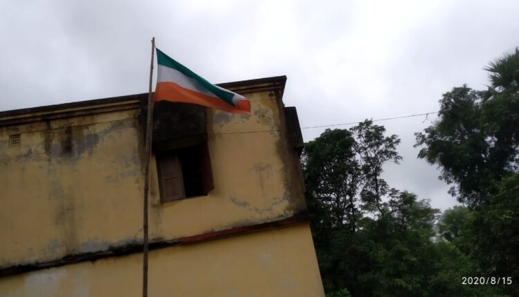 disrespect to national flag