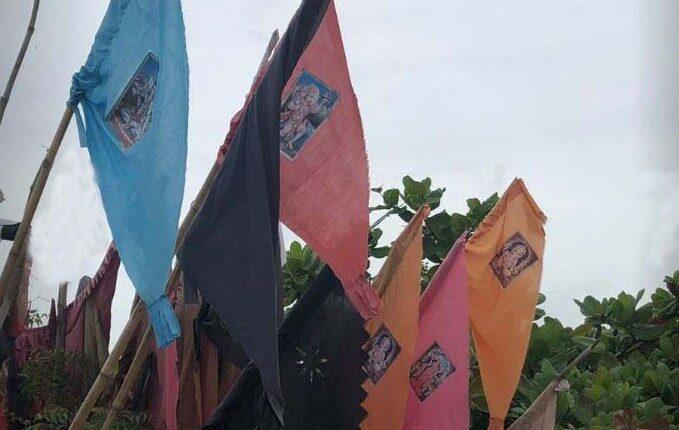hindu god flags