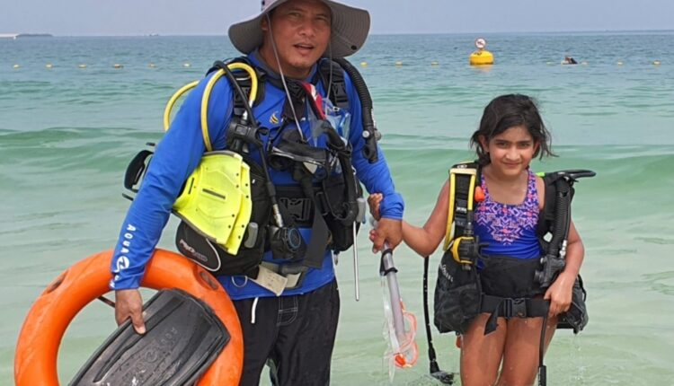 youngest odia scuba diver
