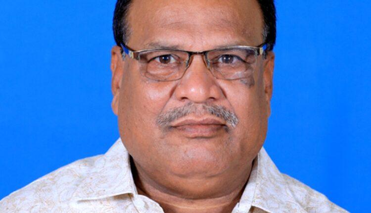 Anandpur MLA Bhagirathi Sethy