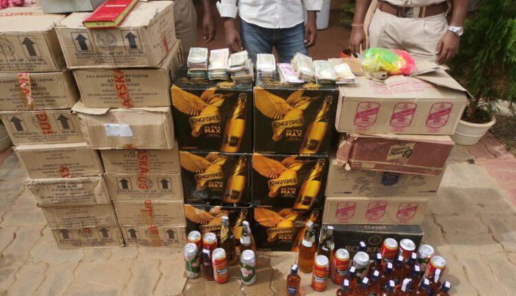 illgeal liquor trade