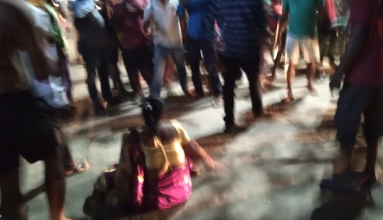 Adashpur woman attacked by police