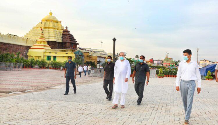 CM Naveen at Puri