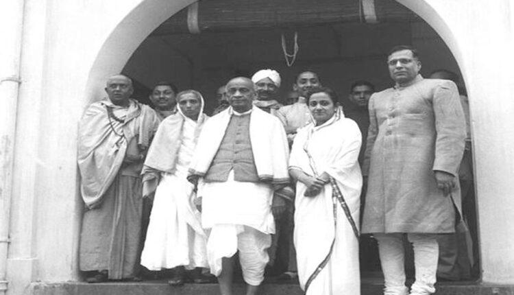 Sardel Patel in 1947