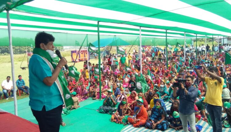 Soumya Ranjan at Balasore by-poll rally
