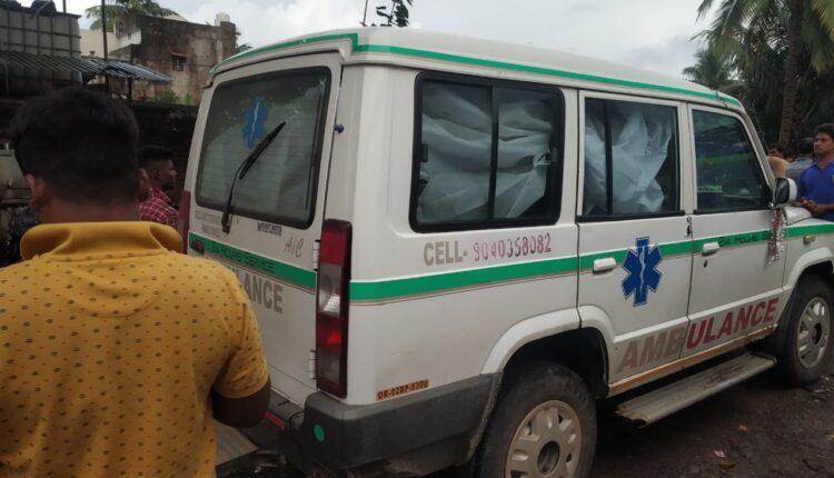amulance_bhang seized