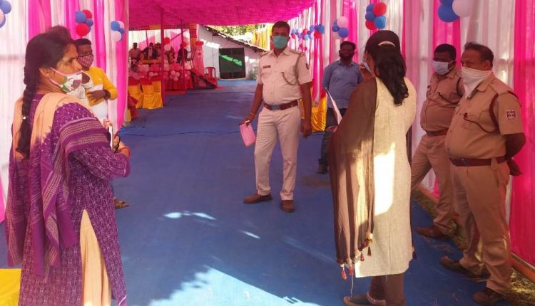 covid guidliens violation in deogarh