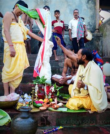banana bride Puja