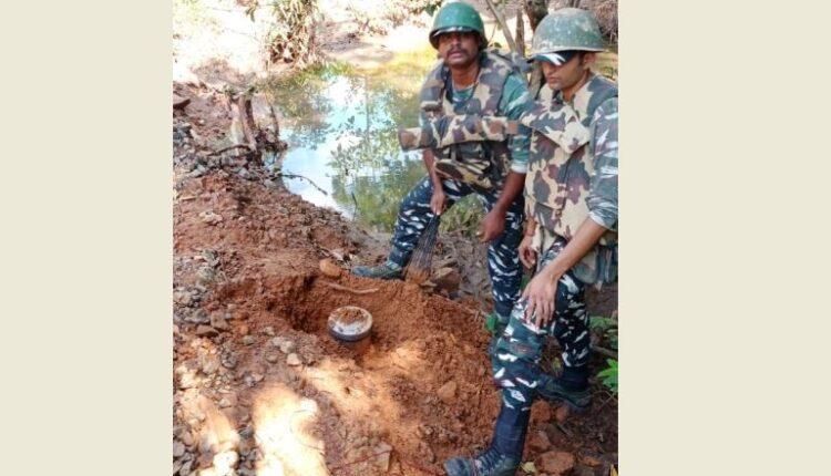landmine seized in Rourkela area