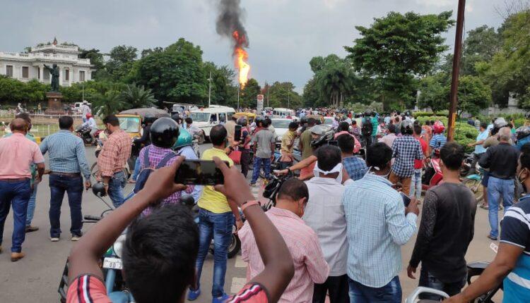 petrol pump blast in bhubaneswar