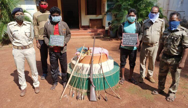 poacher arrest