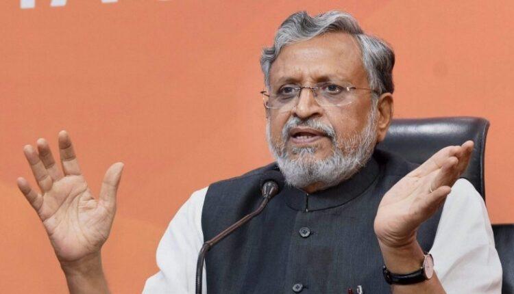 sushil modi_Bihar deputy CM