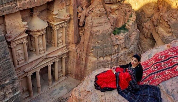 girl with saree