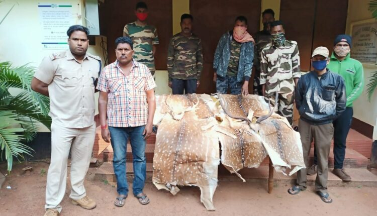 poacher arrested in Dhenkanal