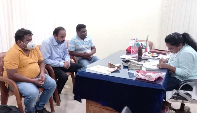 ITDA officials held