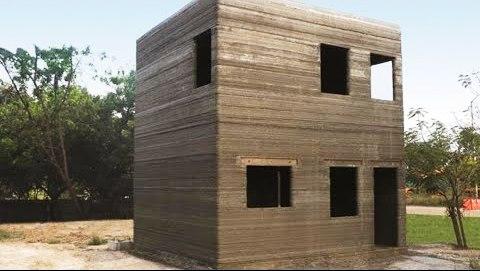 L&T 3D print house