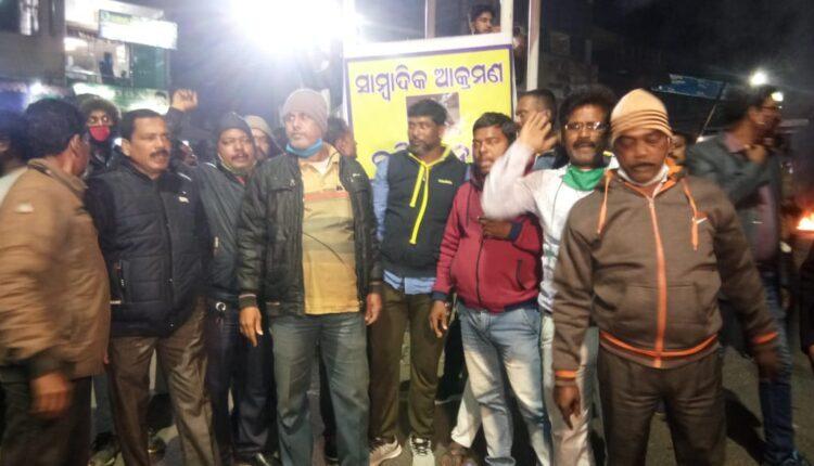 journalist attack in Nayagarh