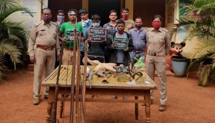 poachers arrest