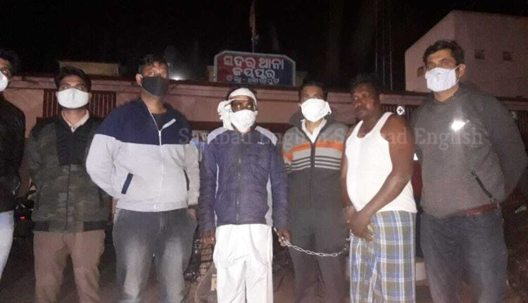 ATS arrest Koraput man