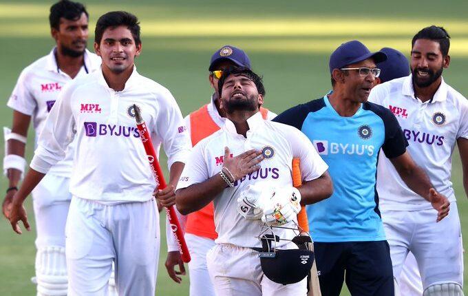 India's Gabba win