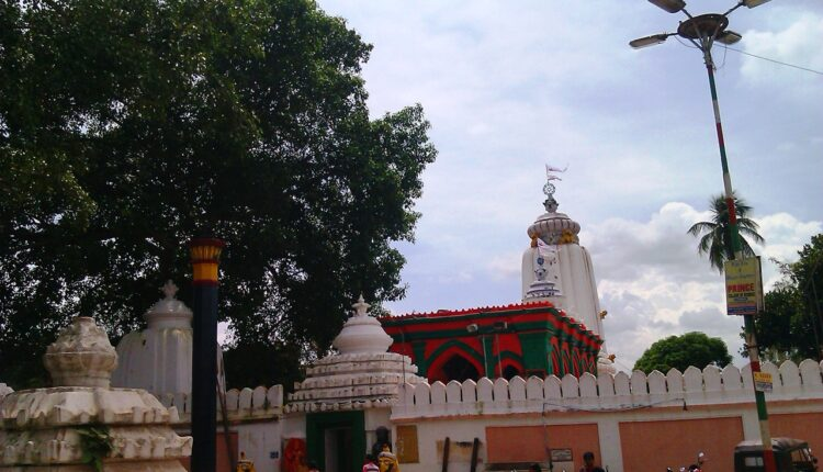 Jagannath_Temple_baripada_Front_view