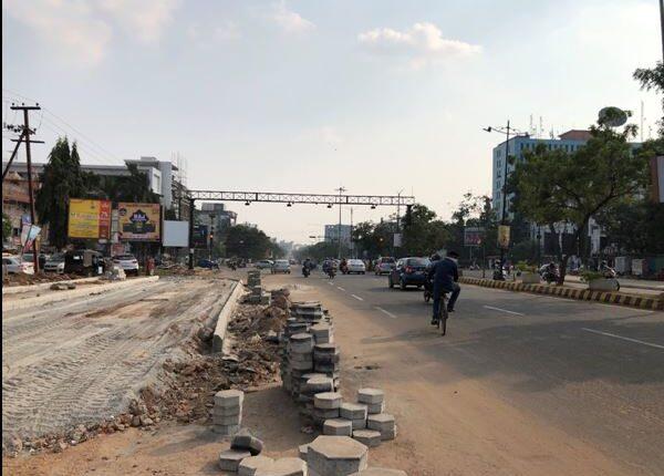 bhubaneswar road work
