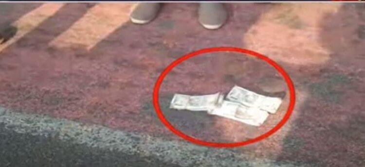 cash on street