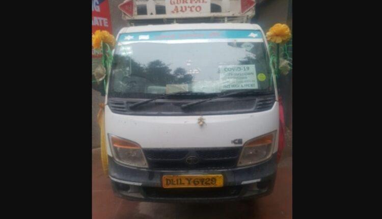 fake covid vehicle