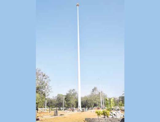 tallest flagpole-rourkela