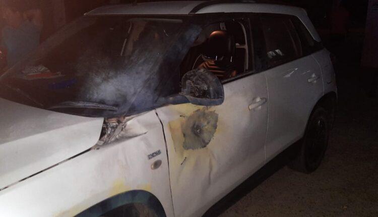 car attacked