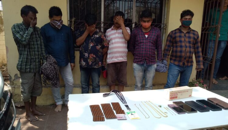 drug and loot case in Bhubaneswar