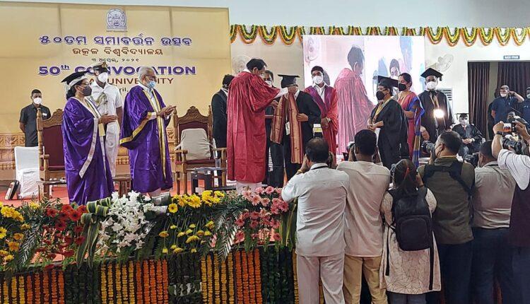 50th convocation of utkal university
