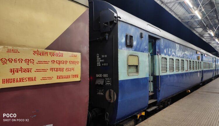 Bhubaneswar-nayagarh special train
