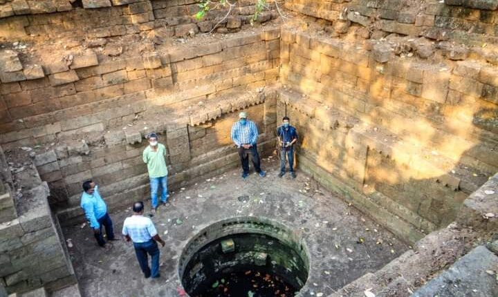 800-year-old ancient well