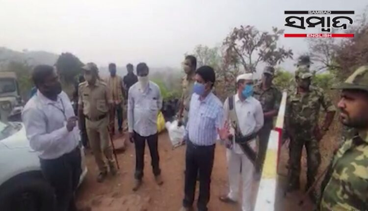 andhra official argues with odisha