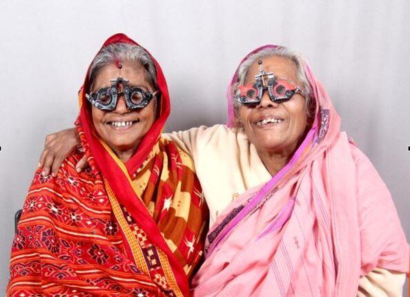 eye test elderly