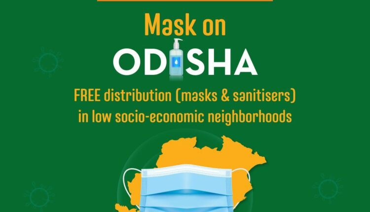mask on odisha initiative
