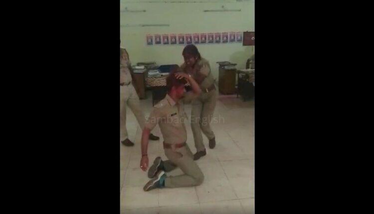 police dancing