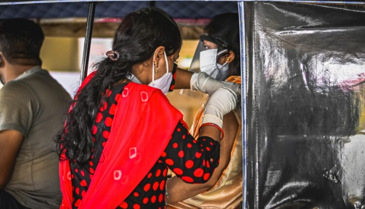 drive-in vaccination
