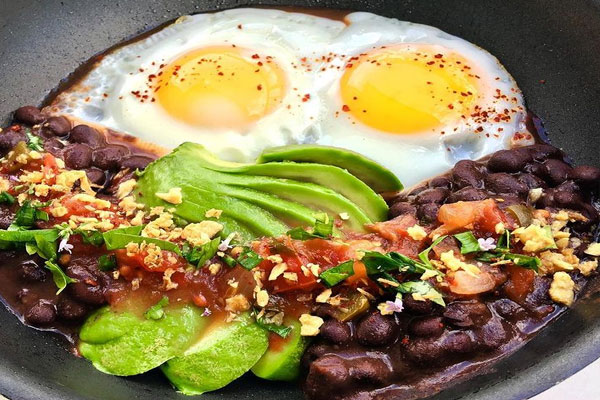 eggs-and-black-beans