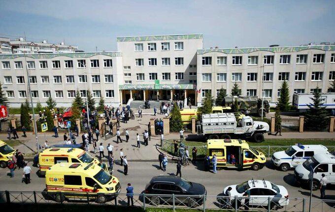 russian school shooting