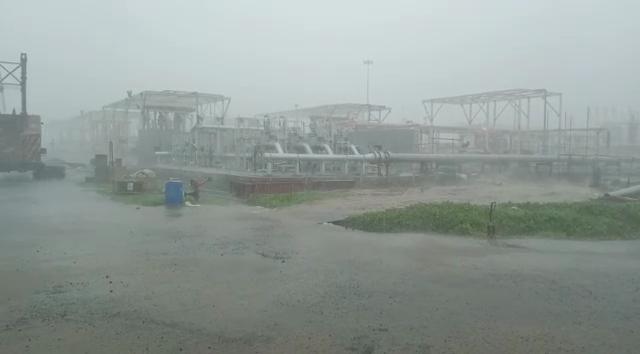 cyclone rain