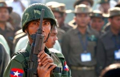 Myanmar's new urban insurgents train with Karen fighters