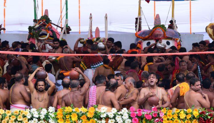 bathing of Lord Jagannath