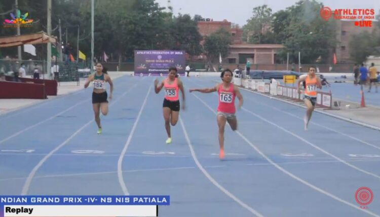 dutee chand at patiala
