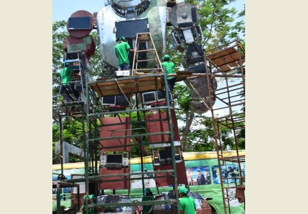 tallest sculpture_ITI berhampur