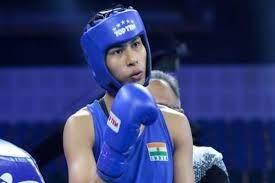 India Lovlina Borgohain  reaches quarter finals. (credit : BFI)