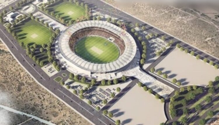 World's third largest cricket stadium to come up in Jaipur.